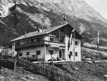 Hallerangerhaus - Geschichte